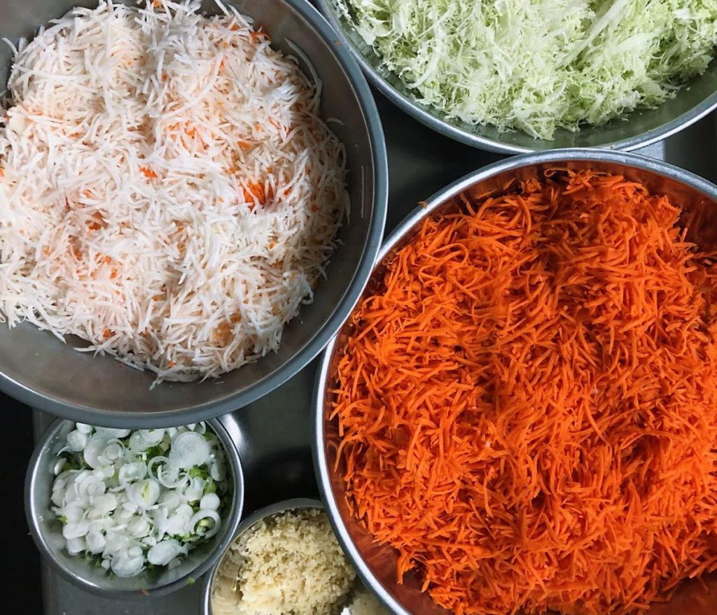 kimchi from family farmer