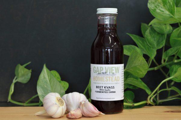 garlic beet kvass