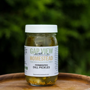 fermented dill pickles for sale