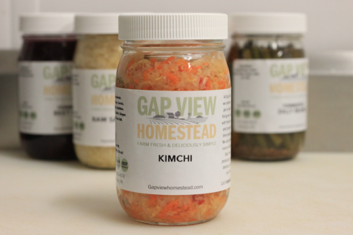 Fermented Kimchi for Sale Gap View Homestead