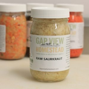 Raw Sauerkraut for Sale Gap View Homestead