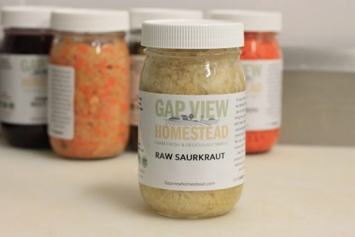 Raw Sauerkraut for Sale Gap View Homestead