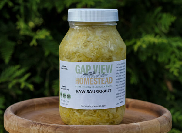 organic sauerkraut for sale