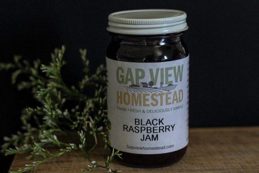black raspberry jam 8oz